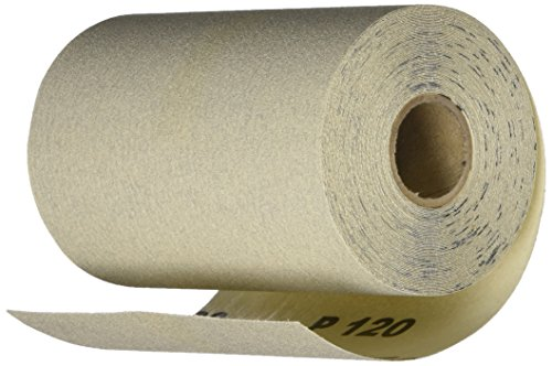 PORTER-CABLE 740001201 4 1/2-Inch by 10yd 120 Grit Adhesive-Backed Sanding Roll