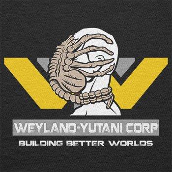 TEXLAB - Weyland Yutani Facehugger - Herren T-Shirt, Größe S, schwarz