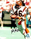 Autgraphed Pete Johnson 8x10 Cincinnati Bengals Photo