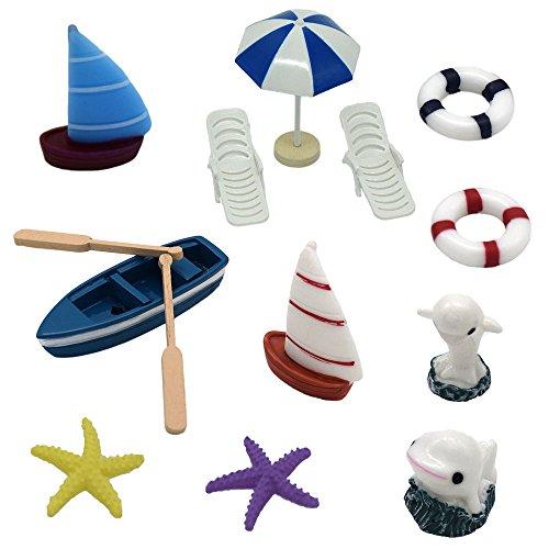 Best miniature ornaments kit beach