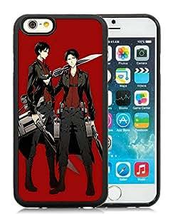 Fashion Designed Shingeki no Kyojin 6 Black iPhone 6 4.7 Inch TPU Phone Case