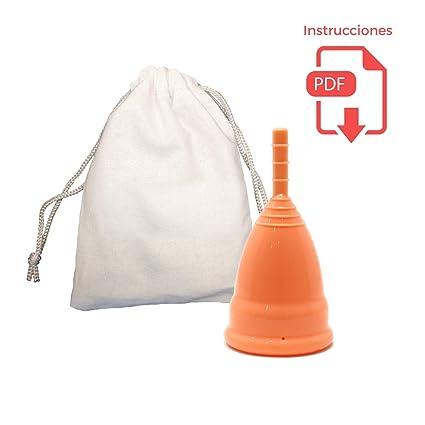 Copa Menstrual Deportiva - Diseño Patentado para Estilo de Vida muy Activo - Nadar, Bailar, Pilates, Yoga, Spinning - Hasta 12 Horas de Protección sin ...