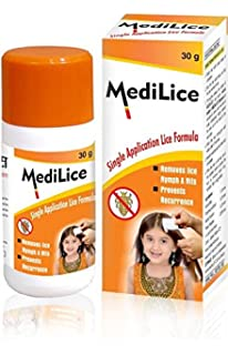 Medilice Anti Lice Cream Wash 30 G Pack Of 6 Amazon In Beauty