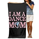 Super Absorbent Beach Towel I AM A Dance Mom Polyester Velvet Beach Towels 31.551.2 Inch
