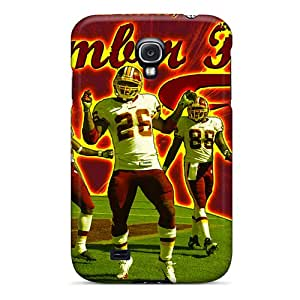Premium Washington Redskins Back Cover Snap On Case For Galaxy S4