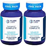 Klaire Labs Ther-Biotic Complete Probiotic - 25 Billion High CFU Probiotic for Women & Men - 12 Strains - Supports Digestive Health and Immune Support - Dairy Free (120 Caps / 2 Pack)