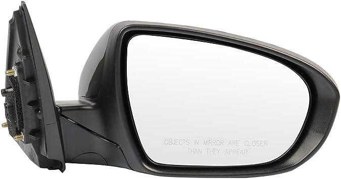 SCITOO Passenger Right Side Mirror Convex Side View Mirror Fits for 2011-2013 KIA Optima K5 KIA Optima Hybrid Power Control Signal Lamp Manual Folding 876202T110KI1321152