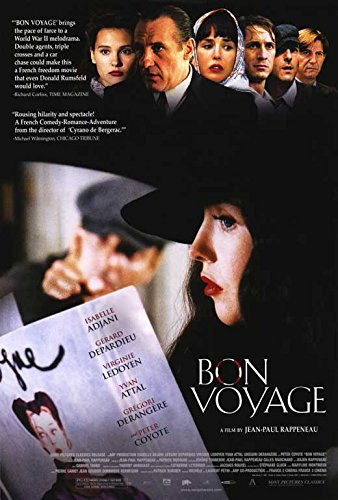 amazon com bon voyage poster movie 27 x 40 inches 69cm x 102cm