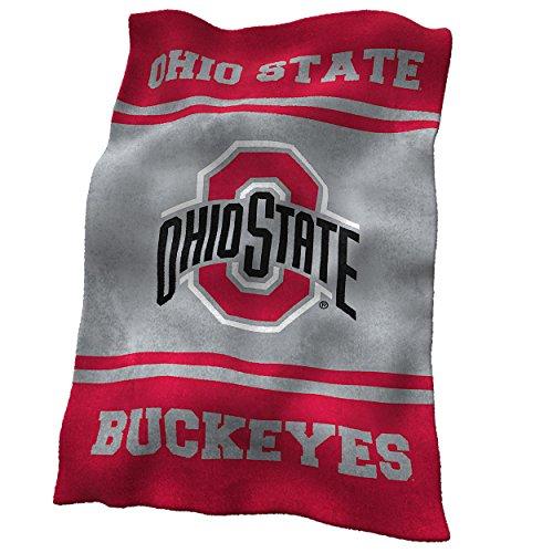NCAA Ohio State Buckeyes Ultrasoft Blanket