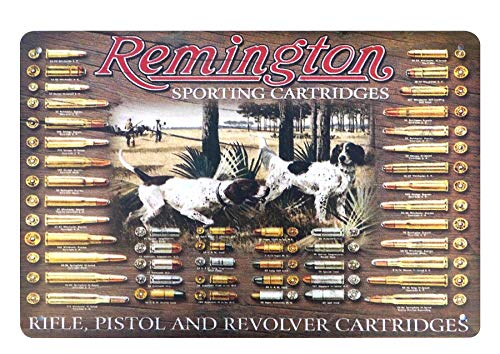 WholesaleSarong Remington Sporting Rifle Pistol Revolver cartridges Firearm Metal Sign Collectible tin Signs Wall Picture Stores