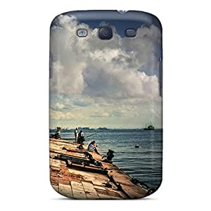 New Design Shatterproof GID8269TQsb Case For Galaxy S3 (fishing)