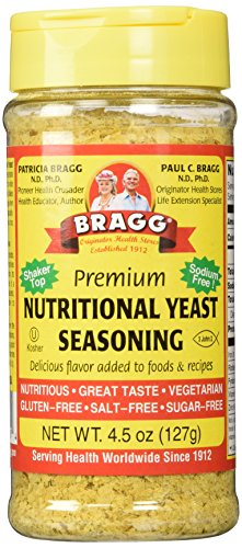 Price comparison product image Bragg Nutritional Yeast Seasoning,  4.5 Oz (Pack Of 3)