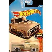 Hot Wheels 2017 HW Hot Trucks Custom '56 Ford Truck 108/365, Gris