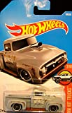 Hot Wheels 2017 HW Hot Trucks Custom '56 Ford Truck 108/365, Gray