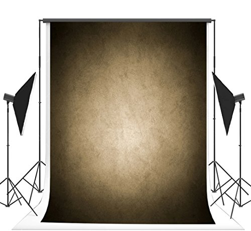 5x7 ft Cotton Seamless Photography Backdrops Brown Solid Muslin Photo Background Props for Studio Props