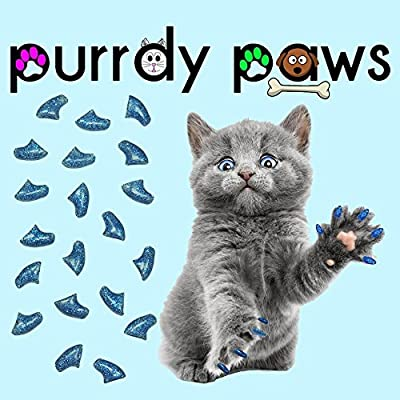 Purrdy Paws 40-Pack Soft Nail Caps