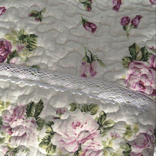 Ustide Rustic Rose Flowers Area Carpet,home Decor Cotton