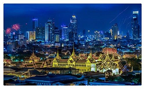 Tailandia rascacielos Megapolis noche Bangkok ciudades ...