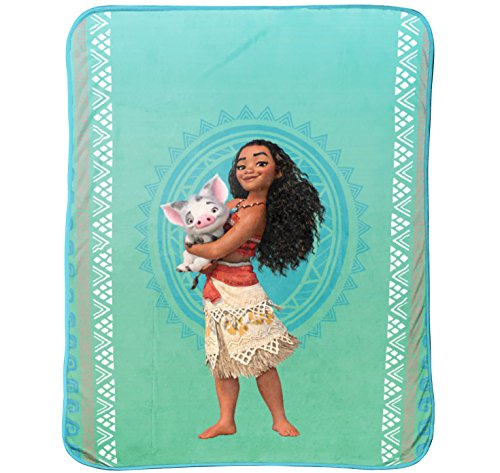 "Disney/Pixar Moana 'The Wave' Plush 46"" x 60"" Throw"