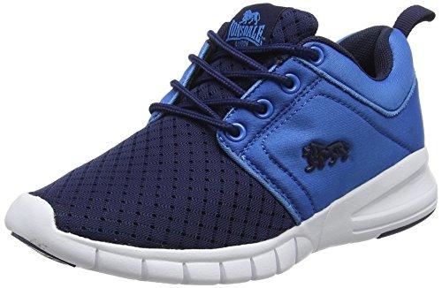 Lonsdale Sivas, Zapatillas Deportivas Para Interior Para Niños Azul (Navy/royal Blue)