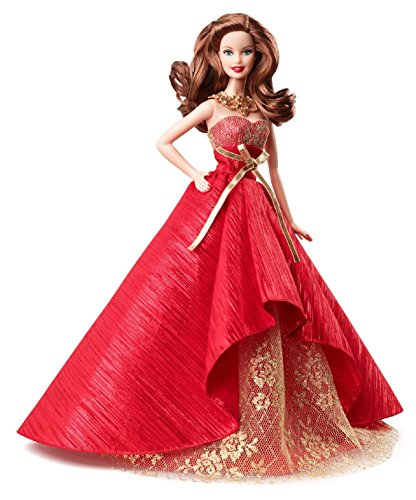 Barbie Collector 2014 Holiday Doll Brunette