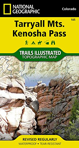 Tarryall Mountains, Kenosha Pass (National Geographic Trails Illustrated - Kenosha Outlets In