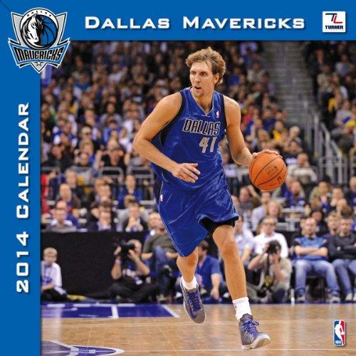 Turner - Perfect Timing 2014 Dallas Mavericks Team Wall Calendar, 12 x 12 Inches (8011442)