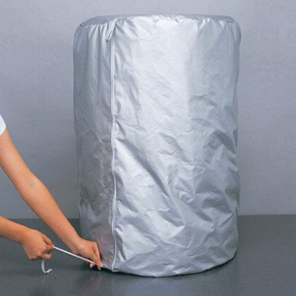 di Diametro-Bianca 69-72cm Comily Plus 15 Pollici PVC Copriruota Universale per Ruota di scorta 27.6-28.8