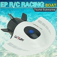 Fashionwu RC潜水艦 ミニ ラジコン おもちゃ コントローラ 水中 電動 玩具 子供 プレゼントの商品画像