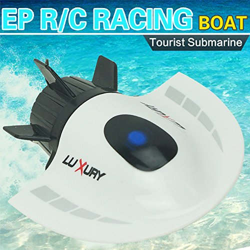 Qiyun 5 Channel Radio Remote Control Submarine Racing Boat Toy Waterproof RC Boat Model Electric Toys Gift for Kids