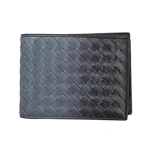 bottega-veneta-mens-intrecciato-blue-navy-leather-wallet-148324-vci81