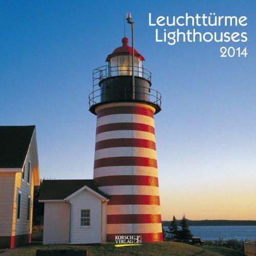 Leuchttürme/Lighthouses 2014 Broschürenkalender