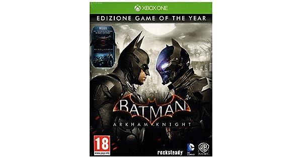 Batman Arkham Knight - Game Of The Year Importación Italiana]: Amazon.es: Videojuegos