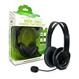 xbox 360 1000 - Hyperkin Xbox 360 MZX-1000 Stereo Headset (Black) - Xbox 360;