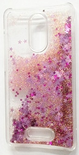 size 40 d3ca7 88f35 AccWorld ® Full 3D Glitter Waterfall Back Cover Case for Xiaomi Redmi Note  3 - Rose Gold