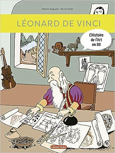 Amazon Fr L Histoire De L Art En Bd Leonard De Vinci