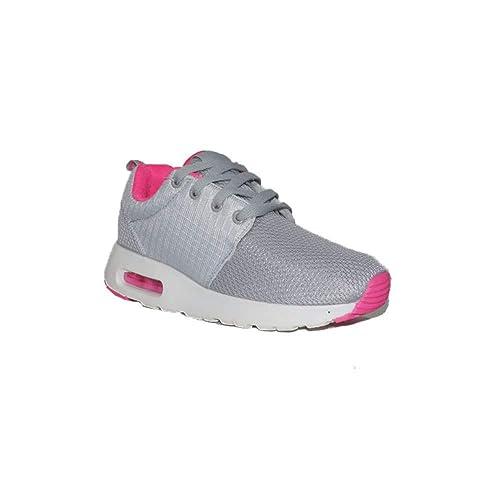 JOMIX JOMIX Casual Mujer D703-6A Zapatillas Deportivas para Mujer Gris Bajas: Amazon.es: Zapatos y complementos