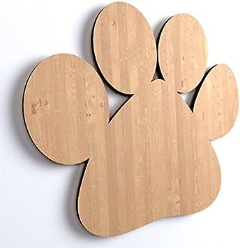 10 x hundepfote animaux en bois a decorer peindre en forme de chien dog