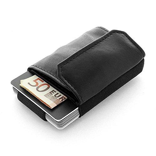 hommes et Boy textile Jaimie Mini en pour de la sac Minimalist à cordon étroit carte titulaire Wallet Nano Jacobs main damesnoirnoir Pocket avec CxoBed