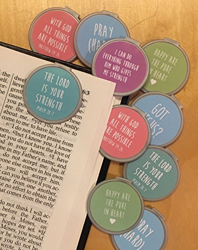 Inspirational Bookmarks (Set of 10) Set #1 gold bookmarks