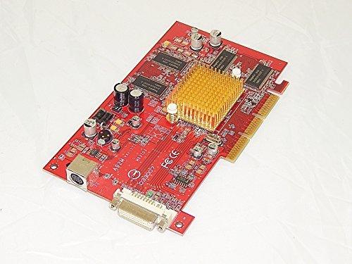 FIC A92M ATI RADEON 9200 128MB 128-bit DDR 4X/8X AGP Video Card (No Bracket) w/DVI, ()