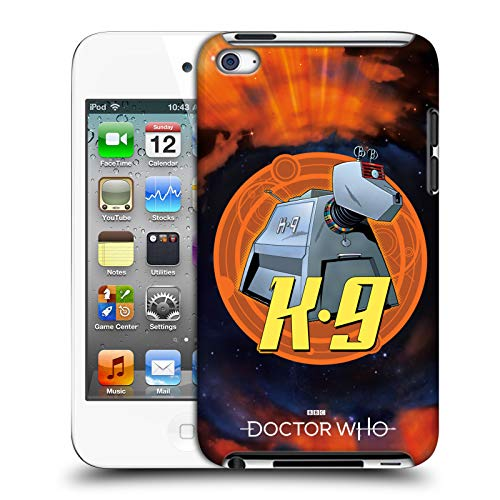 Official Doctor Who K9 Classic Companions Hard Back Case Compatible for Apple iPod Touch 4G 4th Gen (Dr Who Ipod 4)