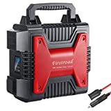 Portable Generator Power Station, 300W 80000mAh 266Wh Power Supply CPAP Emergency Charged Solar, Dual 110V AC Outlet/2 DC Ports/2 USB Ports/1 Cigarette Socket/LED Backup Battery for Fishing/Camping