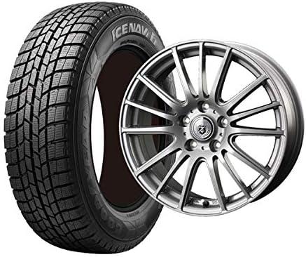 グッドイヤー(Goodyear)スタッドレスタイヤ ホイールセット 4本セット 215/60R17 グッドイヤー アイスナビ6 1770+48-5H114.3 ウェッズ Gマッハ フルーレ MS ( 17インチ アウトレット 冬タイヤ 未使用品 TW バランス調整済み ジェームス 215/60-17 )