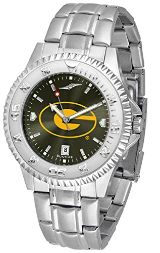 State Steel Watch Tigers Sport (Grambling State Tigers Competitor Steel AnoChrome Men's Watch)