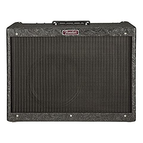 Fender Blues Deluxe Reissue Black Western Limited Edition w/Celestion Heritage G12-65 - Fender Blues Combo Amps