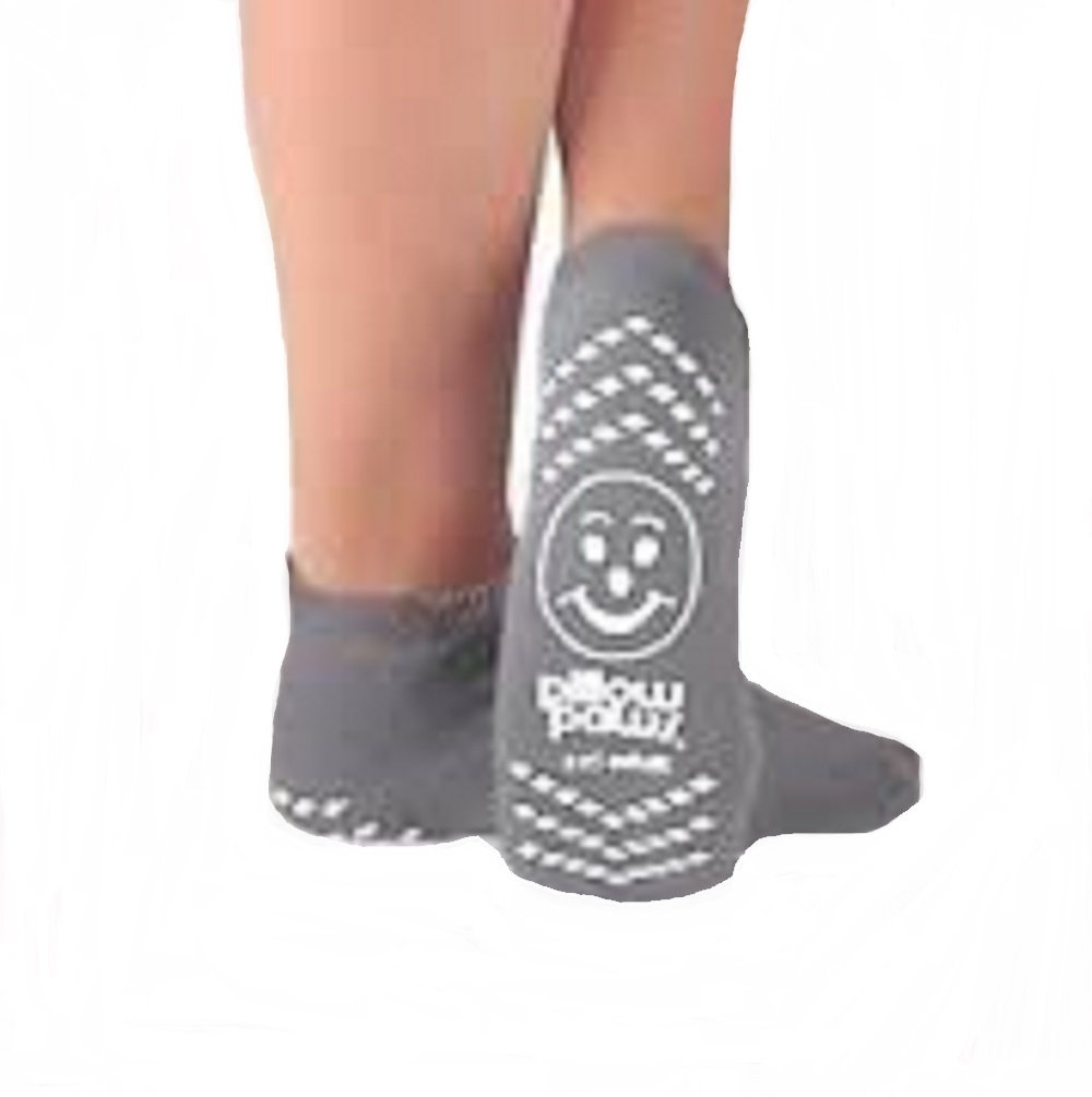Principle Business Double Imprint Terries Slipper Socks