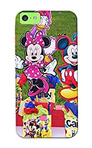 5c Scratch-proof Protection Case Cover For Iphone/ Hot Birt Ay Party Centerpiece Minnie Mouse Donald Duck Mickey Clubhouse Phone Case