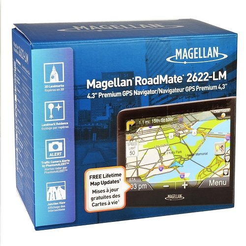 Magellan RoadMate 2622-LM 4.3'' Touchscreen Portable Vehicle Car GPS w/Windshield Mount by Magellan (Image #3)