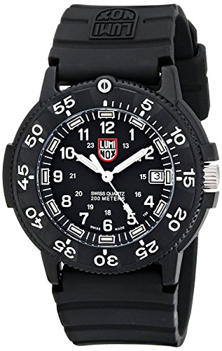 Luminox Men's 3001 Quartz Navy Seal Dive Watch (Pvd Luminox)